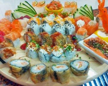 Sushi de Fusão & Sangria | 2 ou 4 Pessoas | Restaurante KiTai