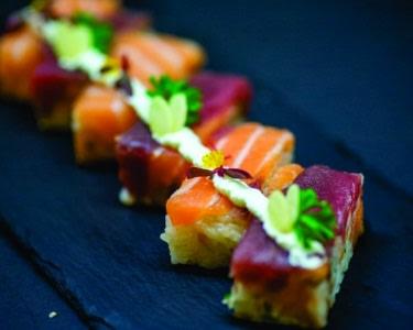 60 Peças de Sushi de Autor c/ Garrafa de Vinho a Dois   Amoreiras