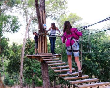 Mega Circuito Arborismo no Adventure Park