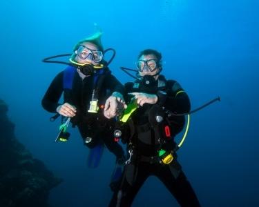 Mergulho no Mar com Garrafa a 2