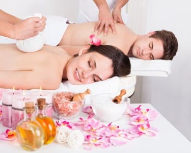 Massagem de Aromaterapia a 2
