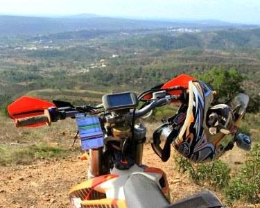 Condução de Moto TT