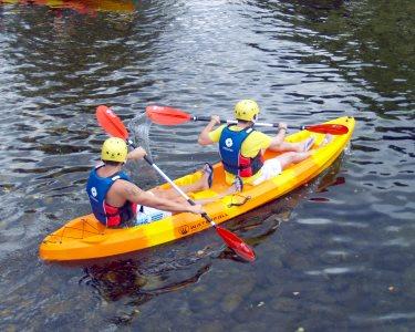 Descida de Kayak no Rio Vez a 2