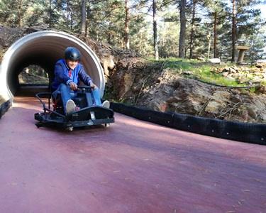 Crazy Cart no Pena Aventura Park para 2