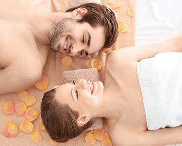 Massagem Terapêutica Aroma e Cromoterapia para 2   Charneca da Caparica
