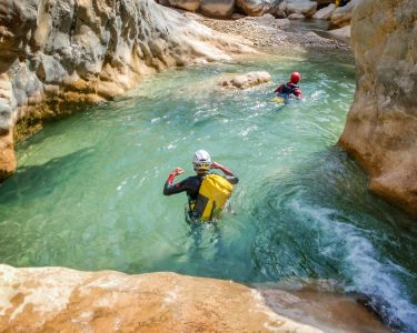 Canyoning a 2