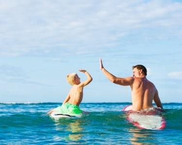Aula de Surf a 2