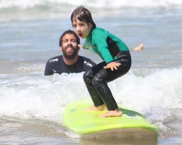 Aula de Surf em Grupo para 2