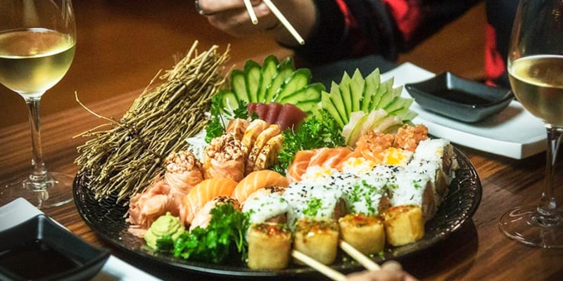 Sushi & Sashimi com Sangria para Dois | Mokuzai Lounge - Lisboa