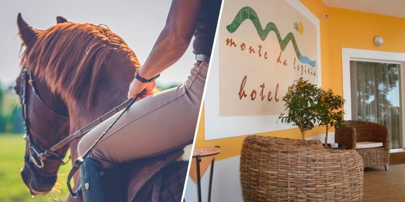 Hotel Rural Monte da Lezíria - Alentejo | Estadia na Natureza com Opção Passeio a Cavalo