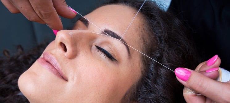 Depilação Facial: Threading Sobrancelhas & Buço   Azeitão