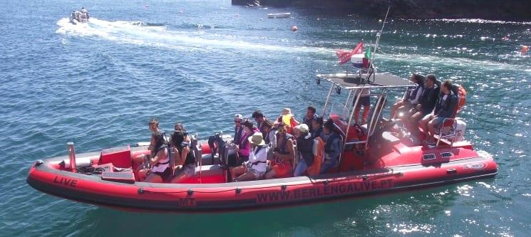 Peniche-Berlengas a Dois | Passeio de Barco + Opção Visita às Grutas ou Snorkeling