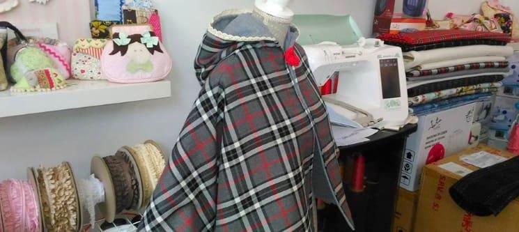 Workshop de Corte e Costura | 5h - Alvalade | Criação de Capa de Inverno ou Túnica de Verão!