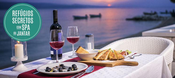 Refúgios Secretos com SPA ou Jantar | 25 Estadias à escolha