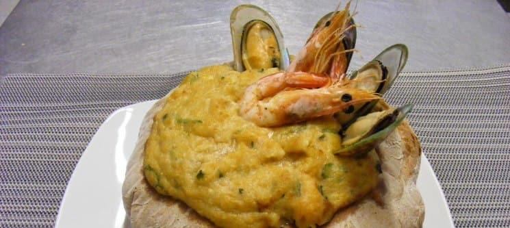 Açorda de Marisco para Dois no Portofino - Sesimbra | Cozinha de Excelência com Vista Mar!