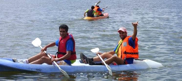 Canoagem no Estuário do Tejo 2h30 | 1 ou 2 Pessoas | Tagus Natura