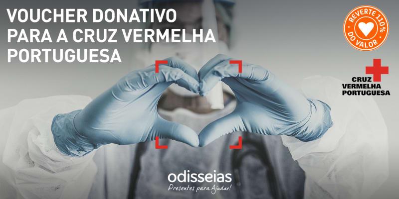 Presentes para Ajudar! Voucher Donativo para a Cruz Vermelha Portuguesa
