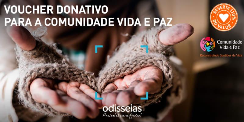 Presentes para Ajudar! Voucher Donativo para a Comunidade Vida e Paz