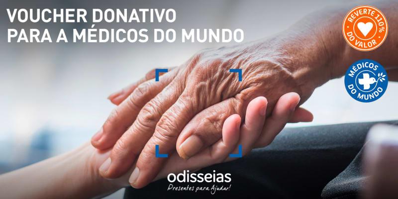 Presentes para Ajudar! Voucher Donativo para a Médicos do Mundo