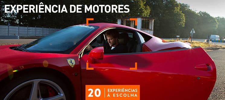 Experiência de Motores | 20 Actividades à Escolha