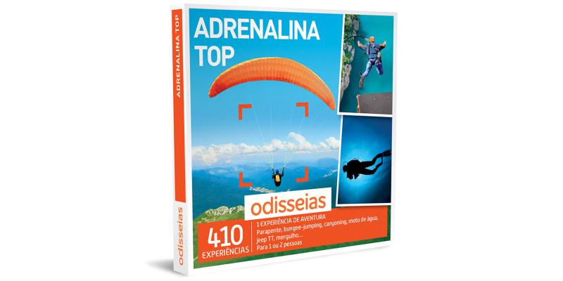 Adrenalina Top | 410 Experiências