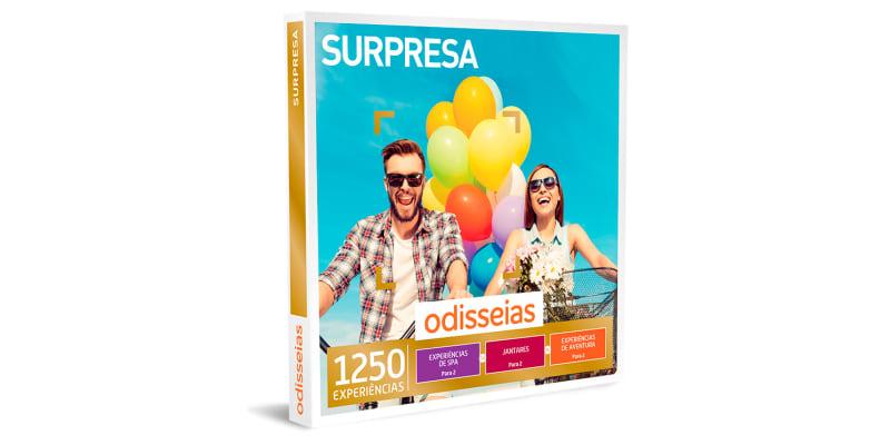 Surpresa | 1250 Experiências