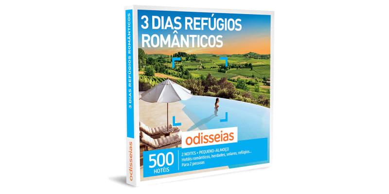 3 Dias Refúgios Românticos | 500 Hotéis