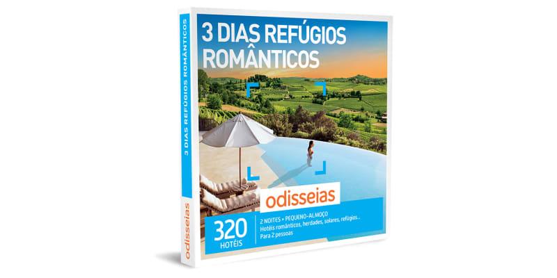 3 Dias Refúgios Românticos | 320 Hotéis