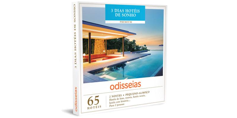 3 Dias Hotéis de Sonho | 65 Hotéis