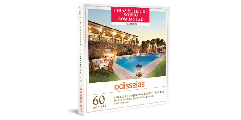 3 Dias Hotéis de Sonho com Jantar | 60 Hotéis