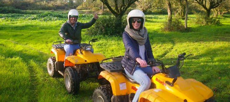 Passeio Maravilhoso de Moto 4 para Dois! 1 Hora | Love & Adventure