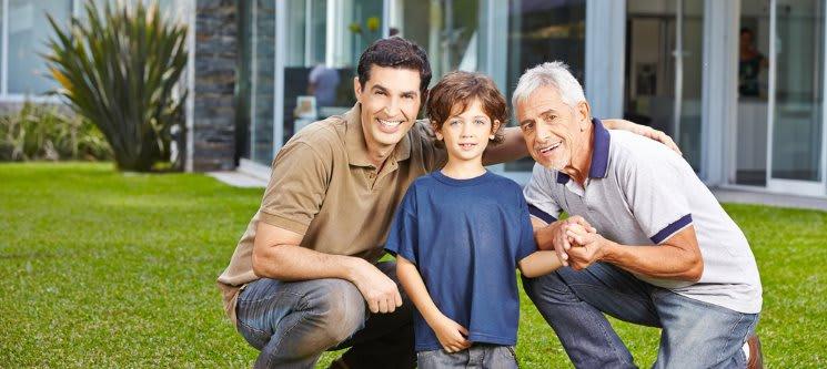 Sessão Fotográfica Avô, Pai & Filhos | Os Homens da Família!
