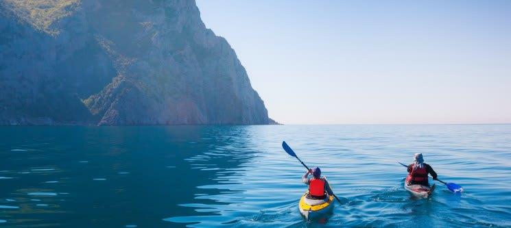 Passeio de Canoa no Portinho da Arrábida | 3h | 1 ou 2 Pessoas