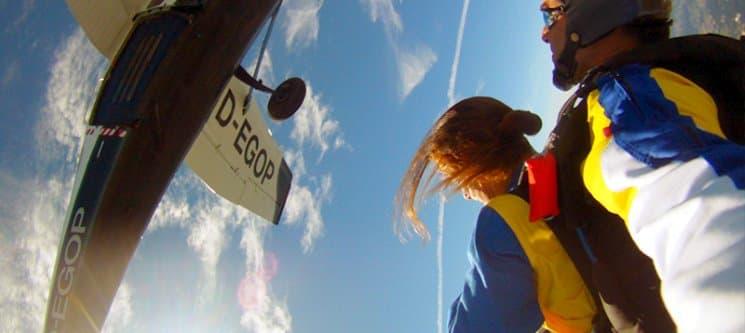 Pelos Céus do Norte de Portugal! Salto Tandem a 3000m de Altitude - Braga ou Espinho