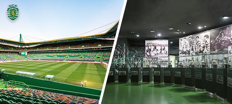 100% Sporting Clube de Portugal! Visita ao Museu e Estádio + Cachecol