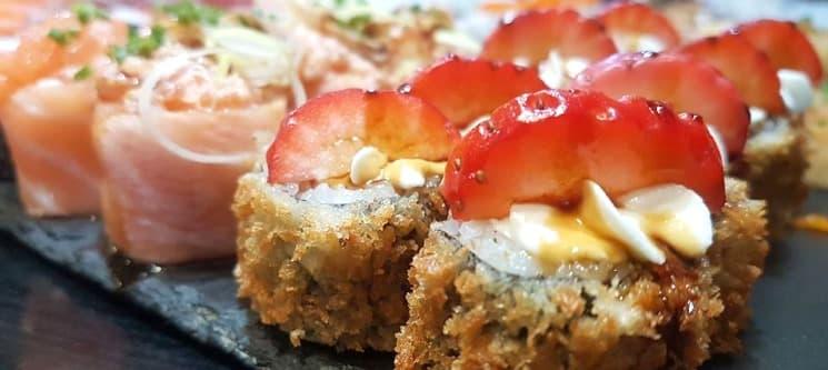 Combinado 50 Peças Sushi à escolha do Chef | Black Sushi - Av. Roma | Sem Reserva!