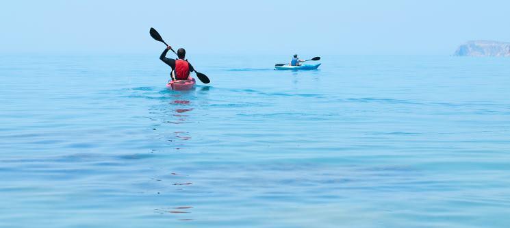 Passeio de Kayak pela Rota dos Fortes | 2 Horas - Oeiras | 1 ou 2 Pessoas
