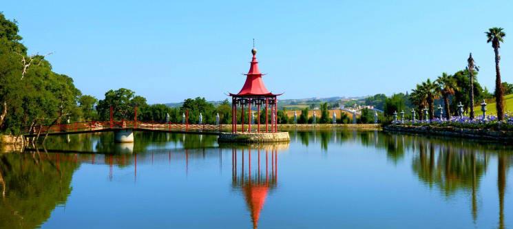 Vale Grande Hotel   Costa de Prata - Noite & Entradas no Jardim Buddha Eden