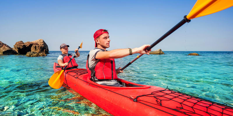 Experiência de Kayak! Water & Nature 1 ou 2 Pessoas   Praia da Luz - Lagos