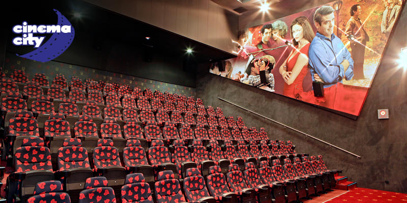 Cinema City - Bilhete de Cinema para Filme à Escolha | 6 Locais