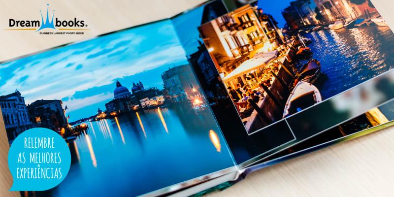 Álbum Digital Personalizável - 24 ou 48 Páginas | Mantenha as Memórias Vivas! Dreambooks