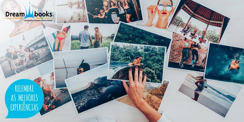 Impressão de 100 Fotografias   Eternize Momentos Únicos! Dreambooks