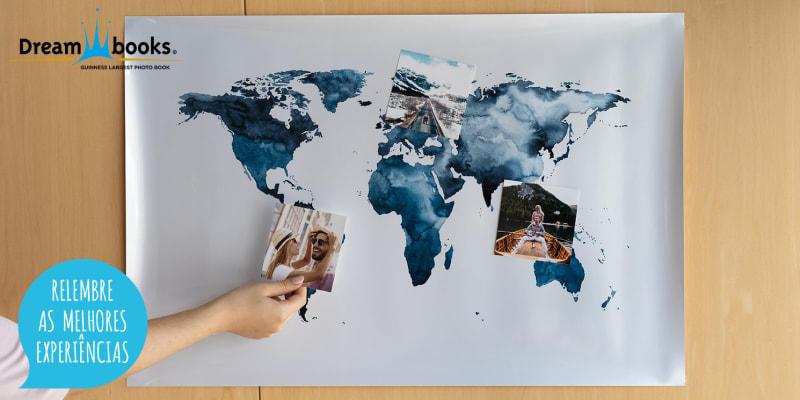 Poster Personalizável - 30x45 ou 40x60 | Encha a Sua Casa de Memórias! Dreambooks