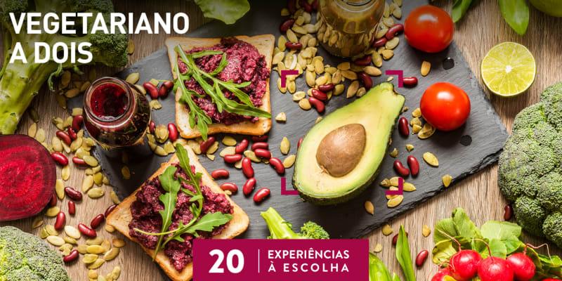 Vegetariano a Dois | 20 Locais à Escolha