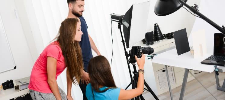 Workshop de Iniciação à Fotografia | Presencial - Estúdio de Sintra ou Oeiras