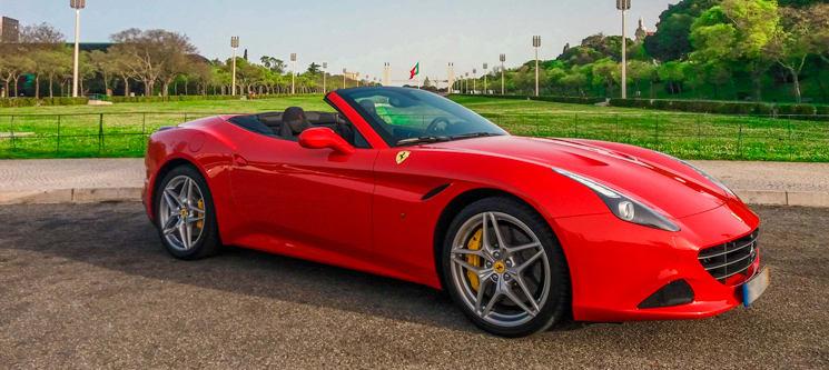 Conduzir um Ferrari em Lisboa | 3 Rotas à Escolha