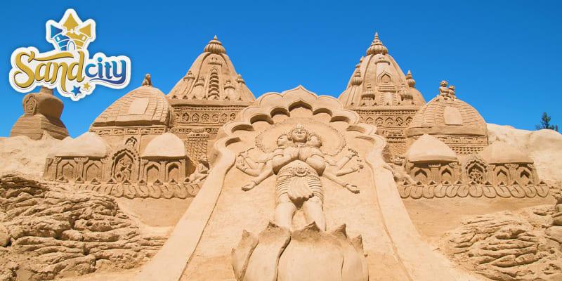 FIESA Sand City - Entrada no Maior Parque de Esculturas em Areia do Mundo | Lagoa
