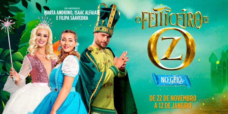 «O Feiticeiro de Oz no Gelo» - Musical Familiar de Natal | Alegro Alfragide