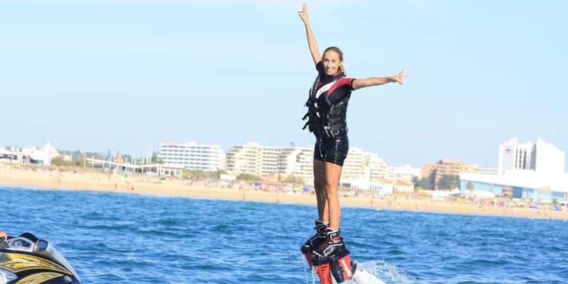 Flyboard no Algarve - Aventura Aquática de 30 Minutos | 1 ou 2 Pessoas | Flyemotions Vilamoura