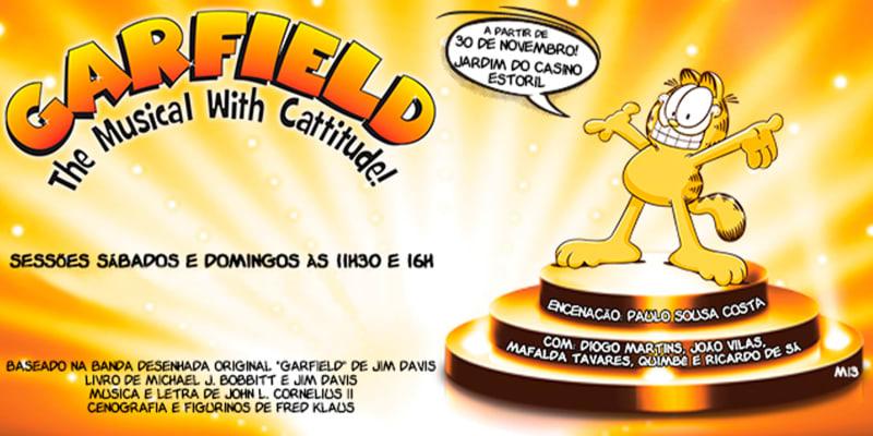 «Garfield, um Musical de Natal com Gatitude» | Jardins do Casino Estoril